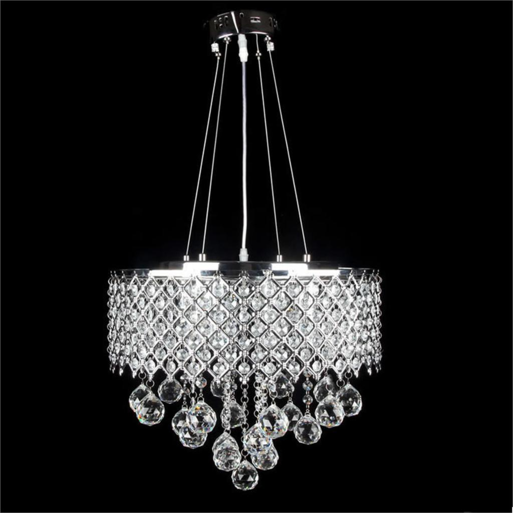 Top Grade Modern Crystal Chandelier Ceiling Lamp New LED ...