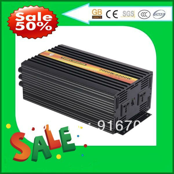 Pure Sine Wave Inverter 3000W 12V to 100V for Solar Wind Power System, DIY Micro Home Power System for home use free shipping<br><br>Aliexpress