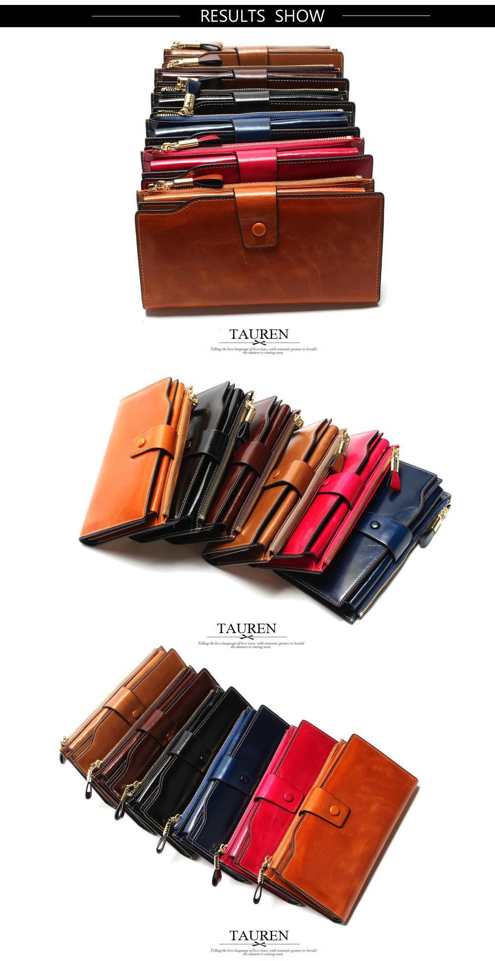 HTB1egQXOVXXXXa2XpXXq6xXFXXXx - 2018 New Design Fashion Multifunctional Purse Genuine Leather Wallet Women Long Style Cowhide Purse Wholesale And Retail Bag
