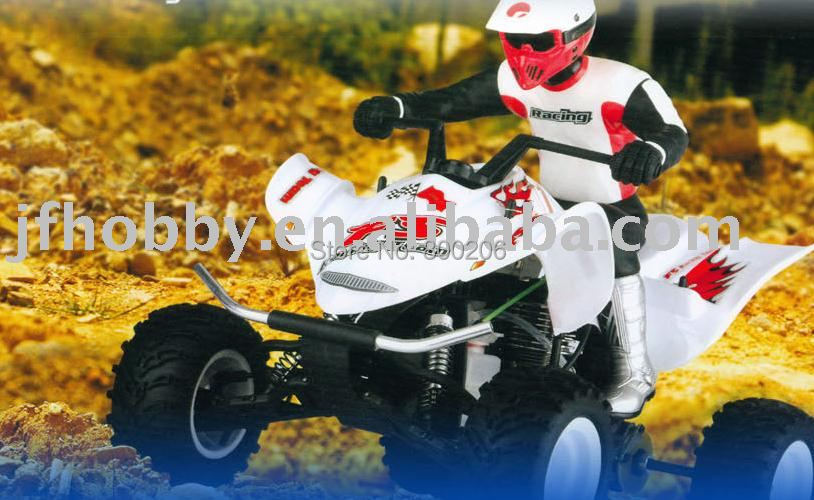 RC Model Car 1/10 2WD ATV Oil operated remote control car(China (Mainland))
