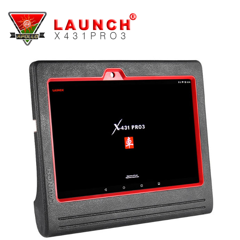 2016 New 100% Original LAUNCH X431 PRO3 Scanpad Bluetooth /WIFI Full System Car Diagnostic Scanner X431 Pro 3 Tablet scan Tool(China (Mainland))