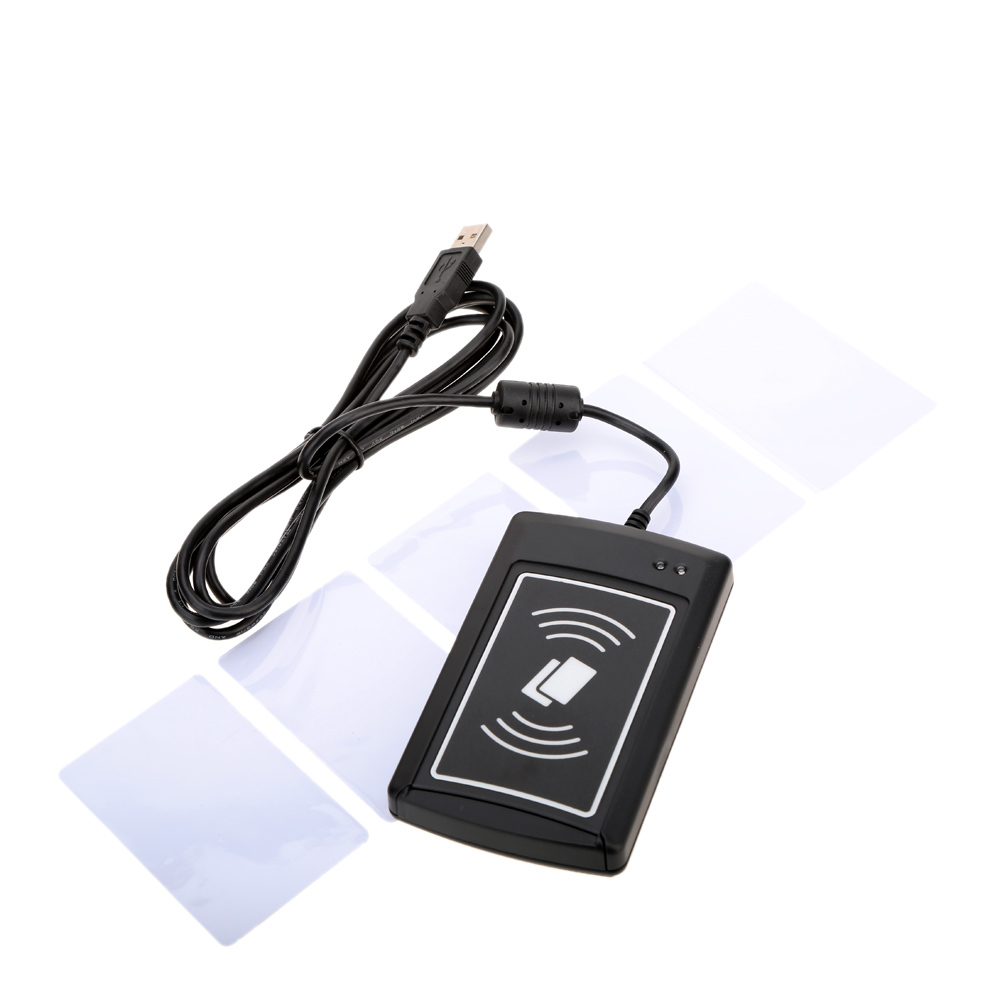 New 13.56MHz RFID Contactless Card Reader/Writer ACR1281U-C8 with 5pcs Cards(China (Mainland))