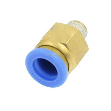 12mm OD Tube 10mm Male Thread Pneumatic Connector Quick Fitting - Amico store