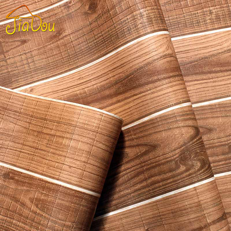Wallpaper For Homes Wall Covering : Aliexpress buy vintage nature wood fiber pvc