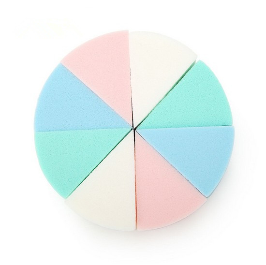 Гаджет  New 2014 Stylish 8PCS Make Up Cosmetic Triangle Foundation Sponge Powder Facial Puff None Красота и здоровье