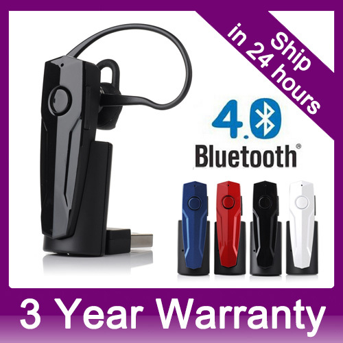 In-Car Wireless Bluetooth 4.0 Headphones Handsfree Portable Headset For Sony Xperia Nokia Lumia 920 Blackberry Z10 Google Nexus