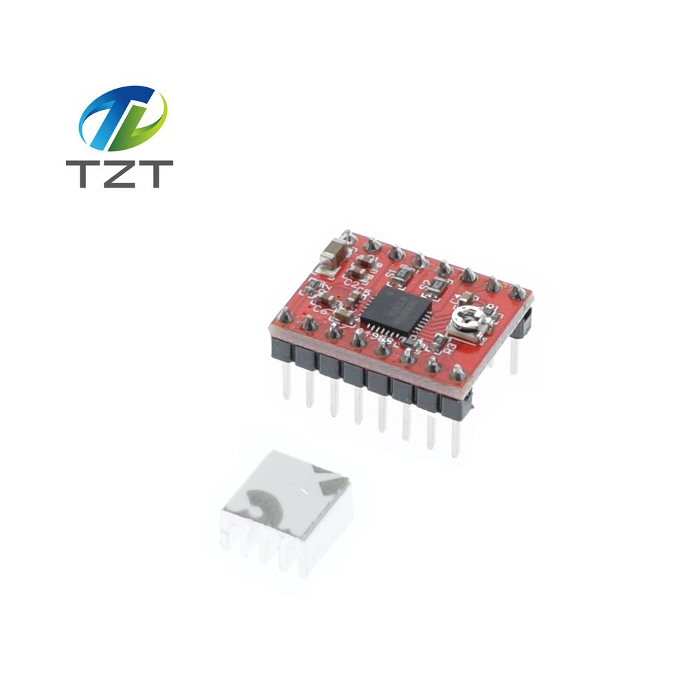 Detail Feedback Questions About 1pcs Reprap Stepper Driver A4988 Introduction To Circuit And Motor Protection 4 Brief Is A Complete Microstepping With Built In Translator For Easy Operation This Product Available Full Half
