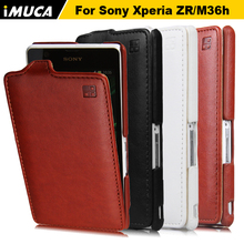 Buy Flip Leather Case Sony Xperia ZR M36h C5502 C5503 Case Cover Sony Xperia ZR Case Back Cover Coque iMUCA Phone Cases for $5.99 in AliExpress store