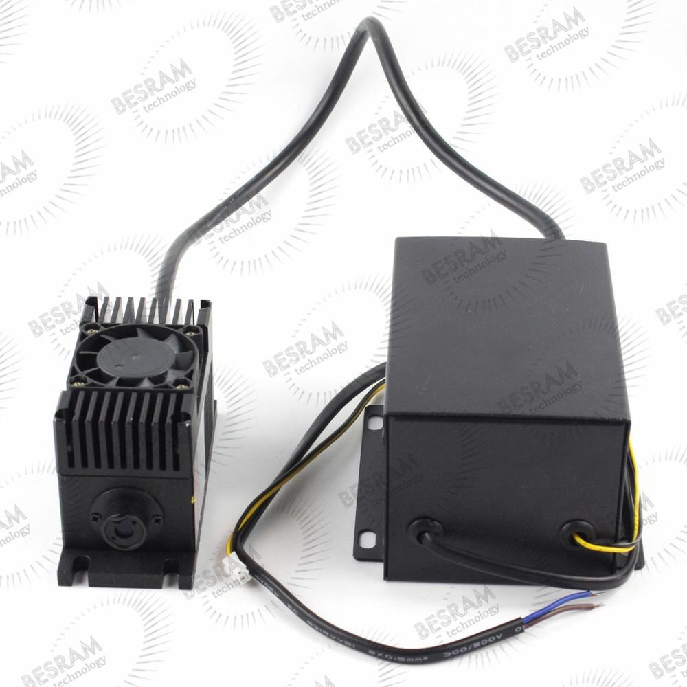 532nm 300mw-400mw DPSS Green Laser Module Diode Fan TTL/Analog 90~260VAC(China (Mainland))