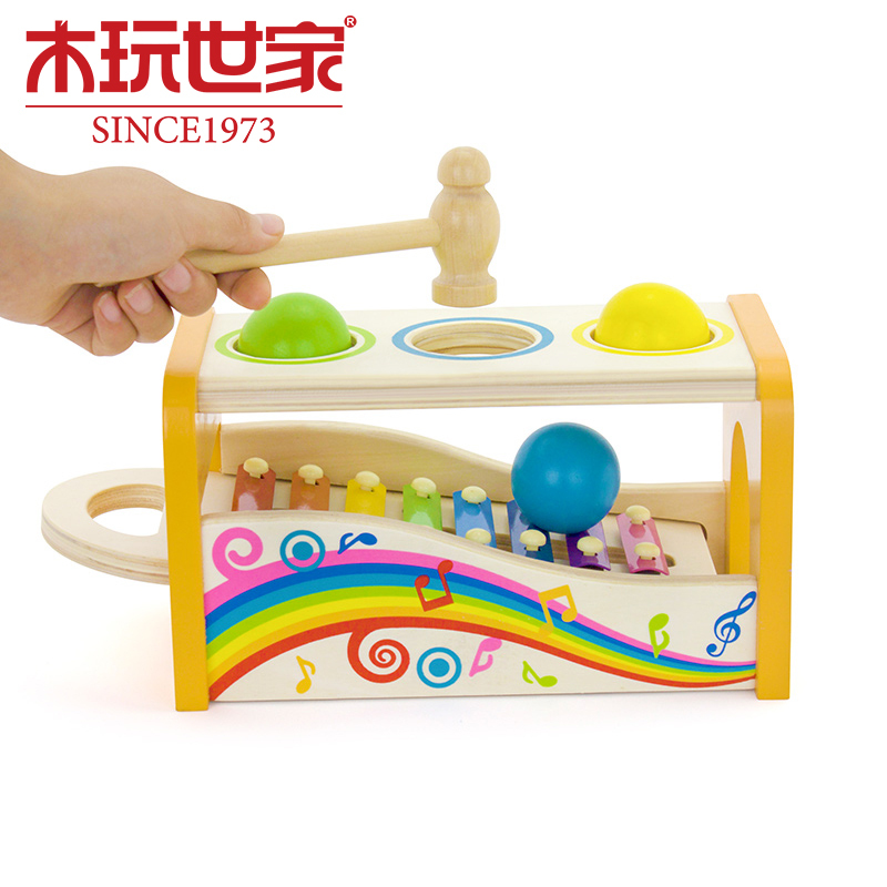 2015 New Kid Musical Toys Music Percussion Xylophone Development Wisdom Wooden Instruments Inspire Talent Music Free Ship(China (Mainland))