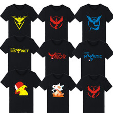 2016 pokemon go plus t-shirt shirt Team Valor Mystic Instinct tshirt t homme - LUCKYFRIDAY Store store