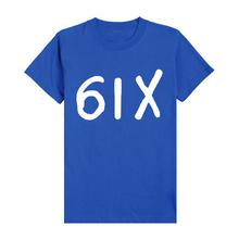 New Promotion Trendy Cozy Men T Shirts Six Drake Slim Elegant Short Sleeve T shirts Male