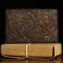 250g Yunnan 16 years oldest puer tea 1998 Double Twelve Pu'er ripe tea of dry storage cooked black brick restriction Special