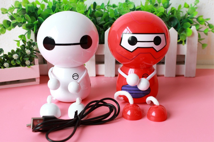 2015 New Brand Mini Fan Portable Handheld Fan Cute Baymax Style Usb Gadgets Mini Fan for Children(China (Mainland))