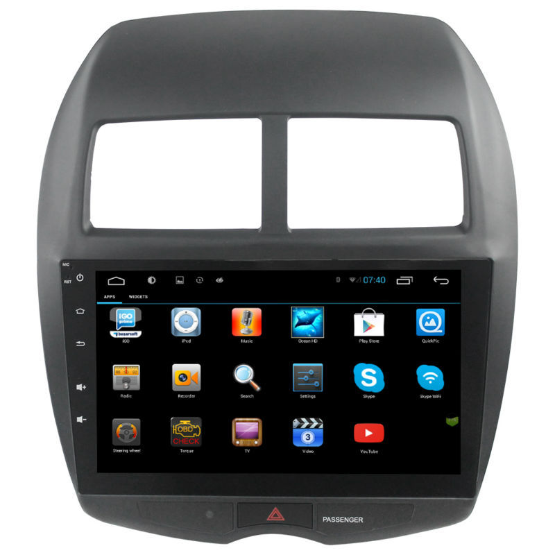 10.2 inch HD 1024*600 screen Android 4.2 Car DVD GPS for Mitsubishi ASX with Navigation System Radio RDS Stereo Headunit Wifi 3G<br><br>Aliexpress