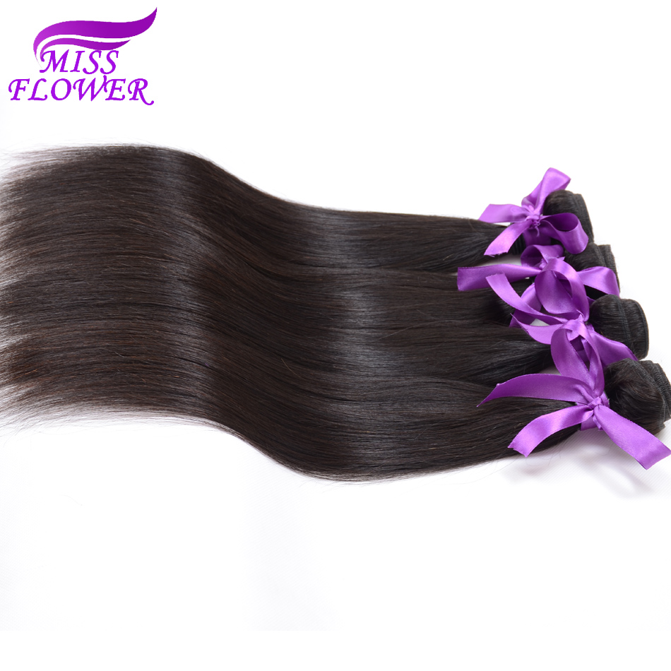 7A Brazilian Virgin Hair Straight 4 Bundles Soft And Top Quality Human Hair Weave Beauty Queen Hair Products Brazilian Straight <br><br>Aliexpress