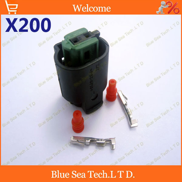 200 sets 2Pin 1.0mm Auto connector,water Temp sensor plug,Car Temp Electrical connector for BMW,Buick.Free Shipping<br><br>Aliexpress