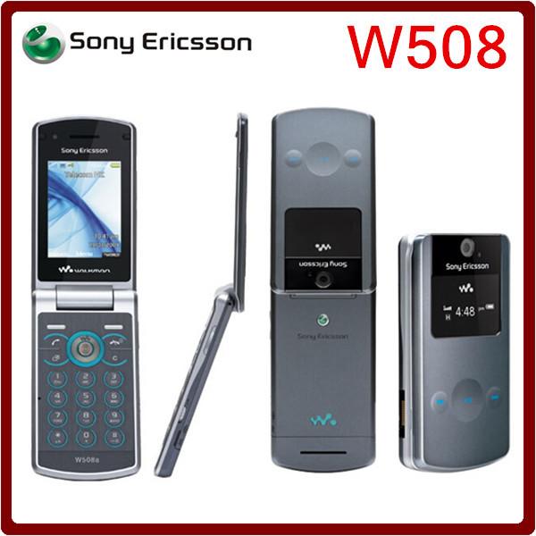 Original unlocked Sony Ericsson w508 3G network 3.15MP camera bluetooth mp3 player mobile phone One year warranty(China (Mainland))