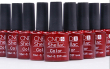 Nail Gel Polish UV&LED Shining Colorful 132 Colors10ML Long lasting soak off Varnish cheap Manicure