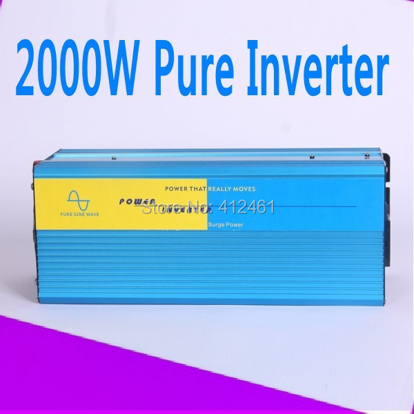 Pure sine wave inverter 2000W 24V CE RoHS Hight quality European system Pure sine wave inverter 2000W(China (Mainland))