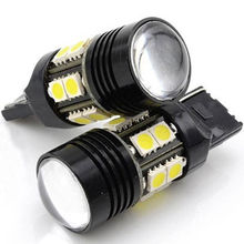 Buy EE support 2 Pcs 3157 12-SMD White Led Car Light 6000K Projector Cree LED Chips Q5 H4 Xenon Auto Backup Reversing Lamps XY01 for $6.18 in AliExpress store