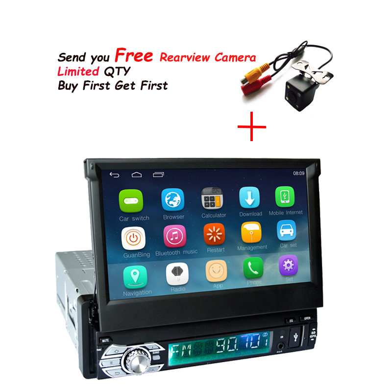 Android 6.0 system car-styling reverse 1 din 7 inch android tv for car dvd radio gps navigation roof mount car dvd player CT0008(China (Mainland))