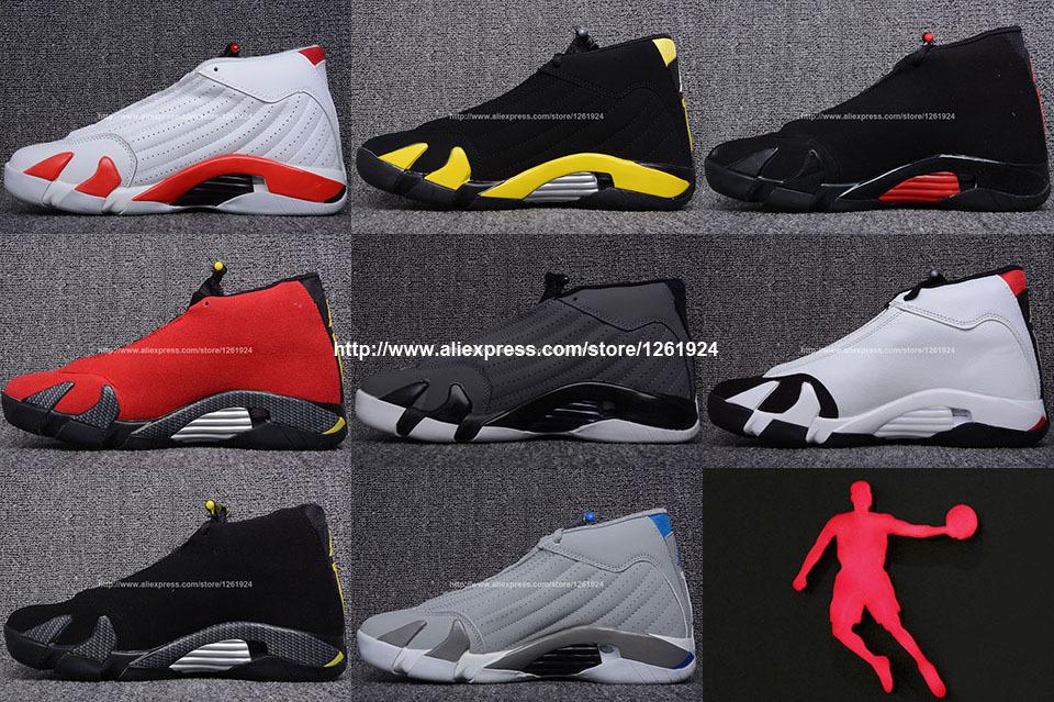 Unisex Men Cheap Jordan 14 Retro Design Basketball Shoes China Brand Women Sports Shoes Black Red Color Close Toe Freeshipping(China (Mainland))