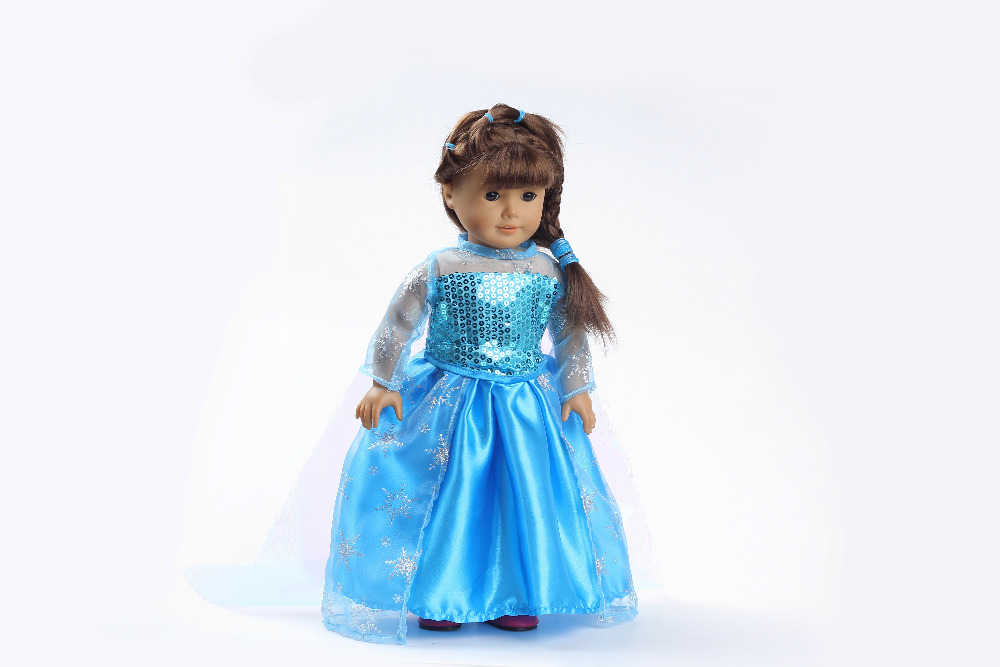 Гаджет  Hot selling 2015 popular 18 inch American girl doll clothes and accessories Handmade dress  b123 None Игрушки и Хобби