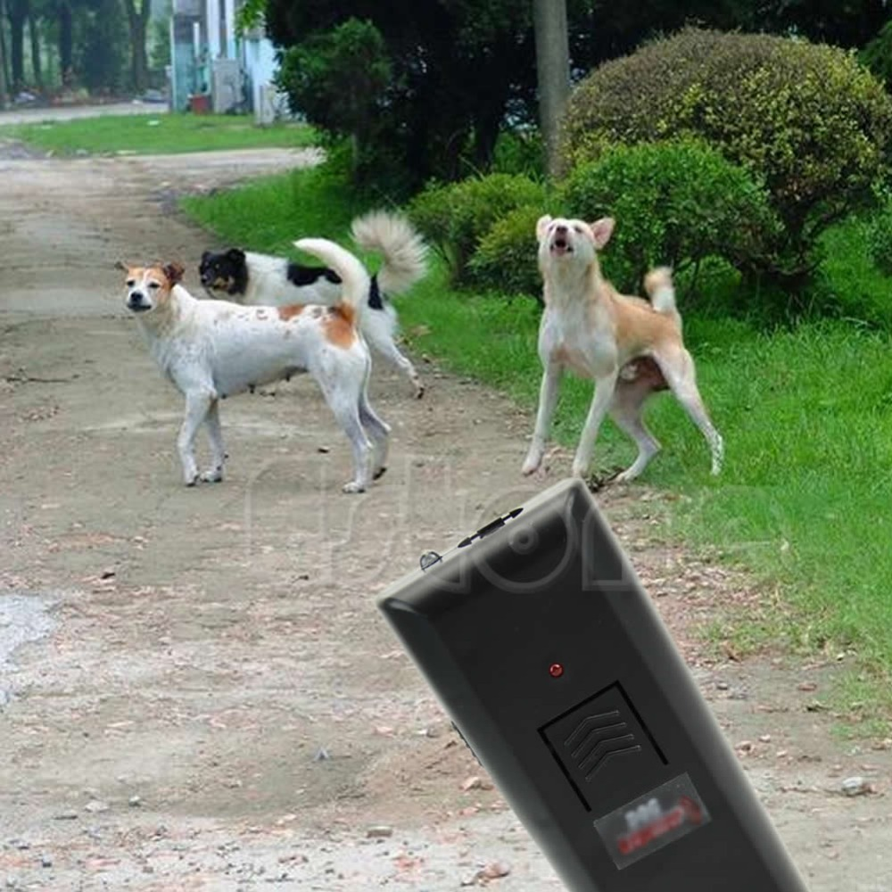 Free Shipping Ultrasonic Anti-Bark Aggressive Dog Pet Repeller Barking Stopper Deterrent Train-S117(China (Mainland))