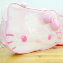 2016 new fashion Beautiful lovely Cartoon transparent bag ladies girls women Travel bags Good quality(China (Mainland))