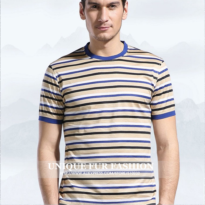 Top quality men summer style clothing striped boys shirts for Best fitting men s dress shirts