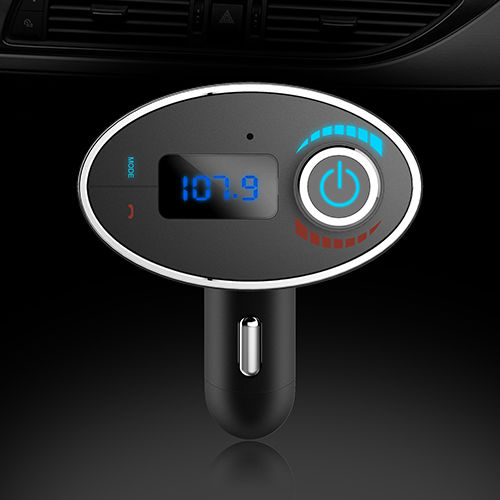 2016 New Arrival Wireless Bluetoot Car Kit MP3 Player Hands-free h FM Transmitter USB Charger(China (Mainland))