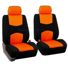 2 front seats Universal car seat covers Audi A6L R8 Q3 Q5 Q7 S4 Quattro A1 A2 A3 A4 A6 A8 accessories styling - Zhejiang Yiwu Auto Parts Co., Ltd. store