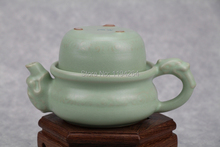 Sky Cyan * Ru Kiln Celadon Ware Kungfu Teapot & Teacup Tea Set 150ml