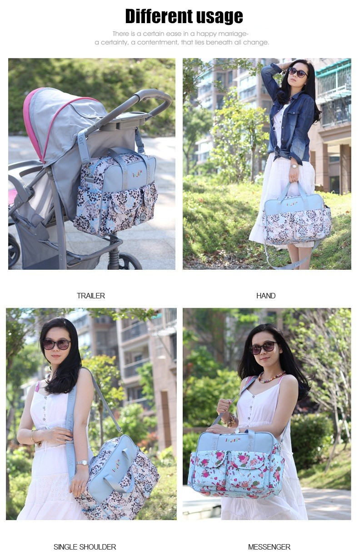 Новинка 5 цветов пеленки младенца сумки для мамы марка детские путешествия подгузник сумки Bebe организатор томми коляска для беременным / 158