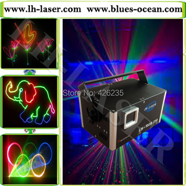 1.5W full color animation rgb laser light with sd card and lcd display from lh-laser company for laser projector(China (Mainland))