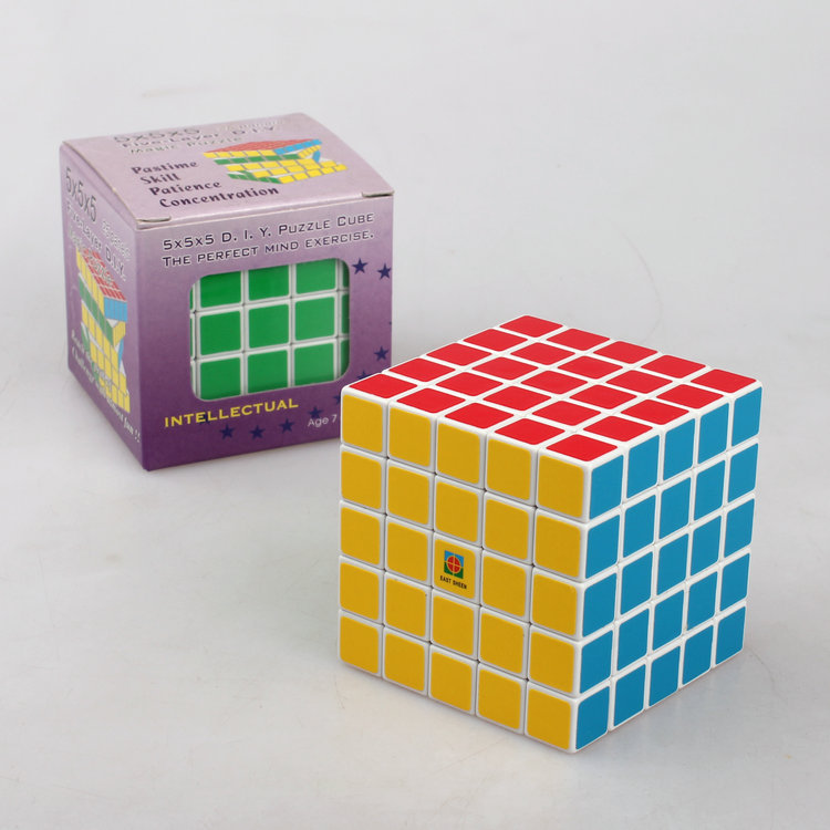 Laser Direct Selling Limited Plastic Neocube 2015 Free Shipping Cubo Magico Magic Cube Square Eastsheen 62mm 5x5x5 Puzzle Toys(China (Mainland))