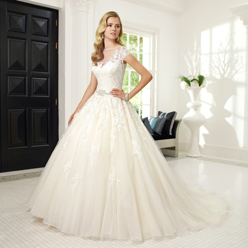 Simple Wedding Gowns with Sleeves – fashion dresses