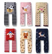 Cute Toddler Baby Boys Girl Cozy PP Pants Legging Kids Cartoon Pattern Trousers