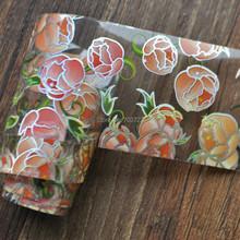 Very Beautiful Flowers  decorative nail art stickers nail stickers transmembrane YC431