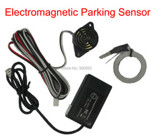 Free shipping Electromagnetic parking sensor,no drill hole,Car Reverse Backup Rada Sensors,Backup Radar System,with big antenna