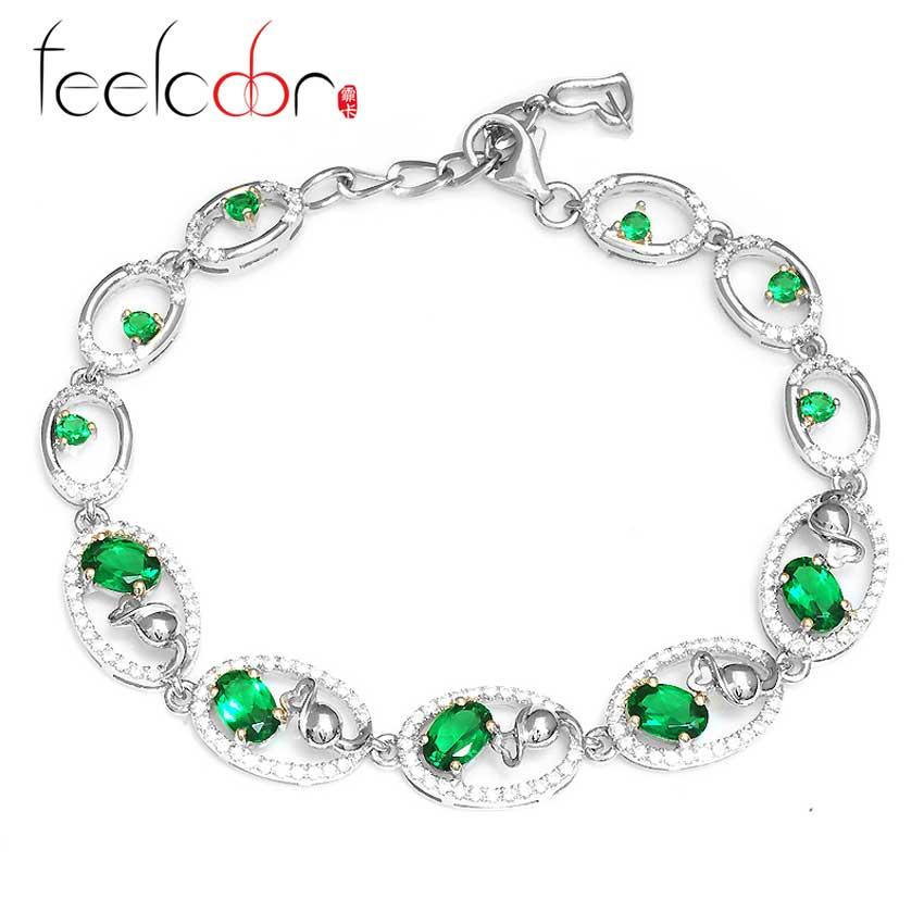 Здесь можно купить  3ct Emerald  Bracelet  Ювелирные изделия и часы