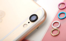 New Arrival! Fashional Rear Camera Glass Guard Circle Lens Protective Case Cover Ring for Apple iphone 6 / 6 plus