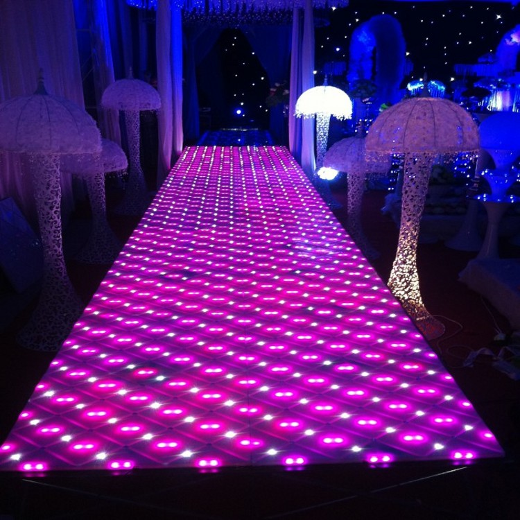 Здесь можно купить  1pcs 60*50 cm Upscale Luxury Colorful Changed LED Wedding Mirror Carpet Aisle Runner For Wedding T Station Stage Decorations 1pcs 60*50 cm Upscale Luxury Colorful Changed LED Wedding Mirror Carpet Aisle Runner For Wedding T Station Stage Decorations Дом и Сад