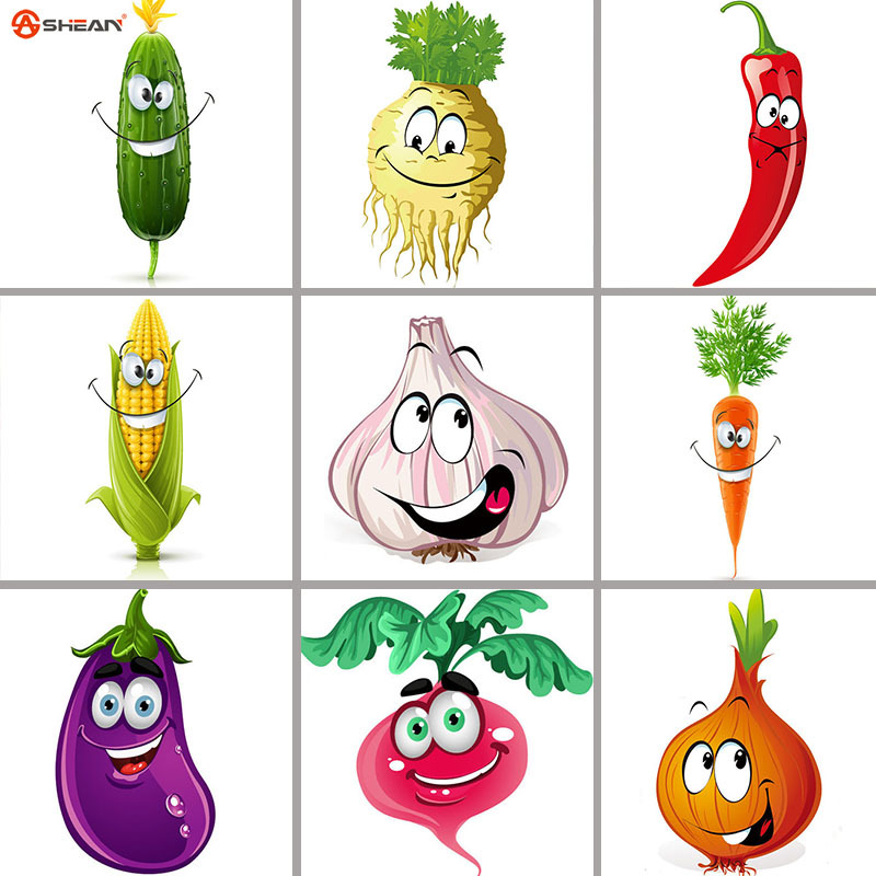 A Cartoon Pack Seeds 25-200 Particles,available Common Varieties Cucumber Onion Pepper Rainbow Corn Radish Pot Vegetable Seeds(China (Mainland))