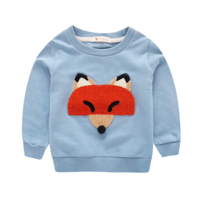 Boys Autumn Sweatershirts Round Collar Solid Color Boys clothes 2016 Fashion boys clothing kids hoodies(China (Mainland))