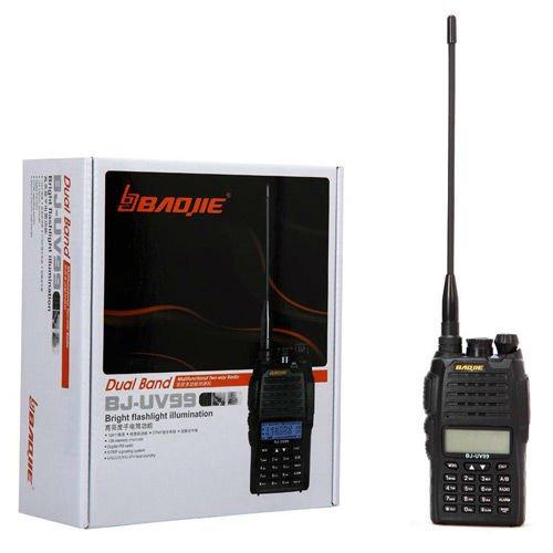 free shipping!!! high power output BJ-UV99 dualband walkie talkie radio station