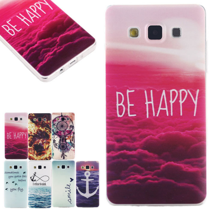 Hot Marketing New!0.3mm Thin Crystal Transparent Soft TPU Case Cover For Samsung Galaxy A3 Apr25(China (Mainland))