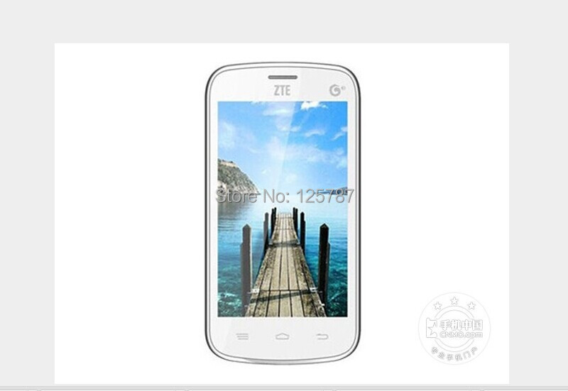 ZTE Q101 4 Inch SC8810 Android 2.3 256MB RAM 512MB ROM 2MP Dual Sim GPS Bluetooth Cheap Mobile Phone(China (Mainland))