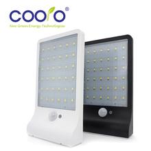 2 PACK New LED Soalr Light 36LEDS IP65 450LM Outdoor Wireless Solar Powered PIR Motion Sensor Light Wall light Led sensor lamp(China (Mainland))